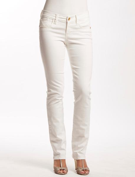 Calça Slim Color com Bolsos Frente Falso Equus