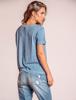 Calça Jeans Boyfriend com barra desfiada
