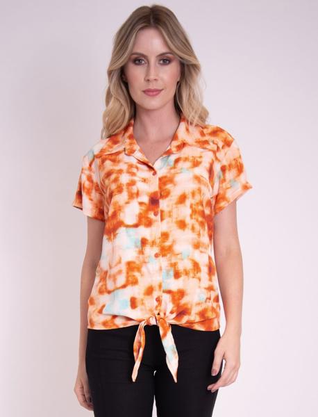 Camisa Tie Dye com Amarração