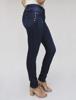 Calça Jeans Skinny Tachas